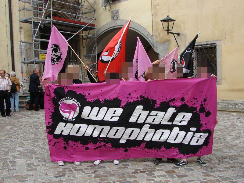 we hate homophobia